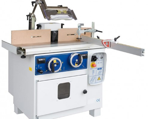 Spindle moulder for wood
